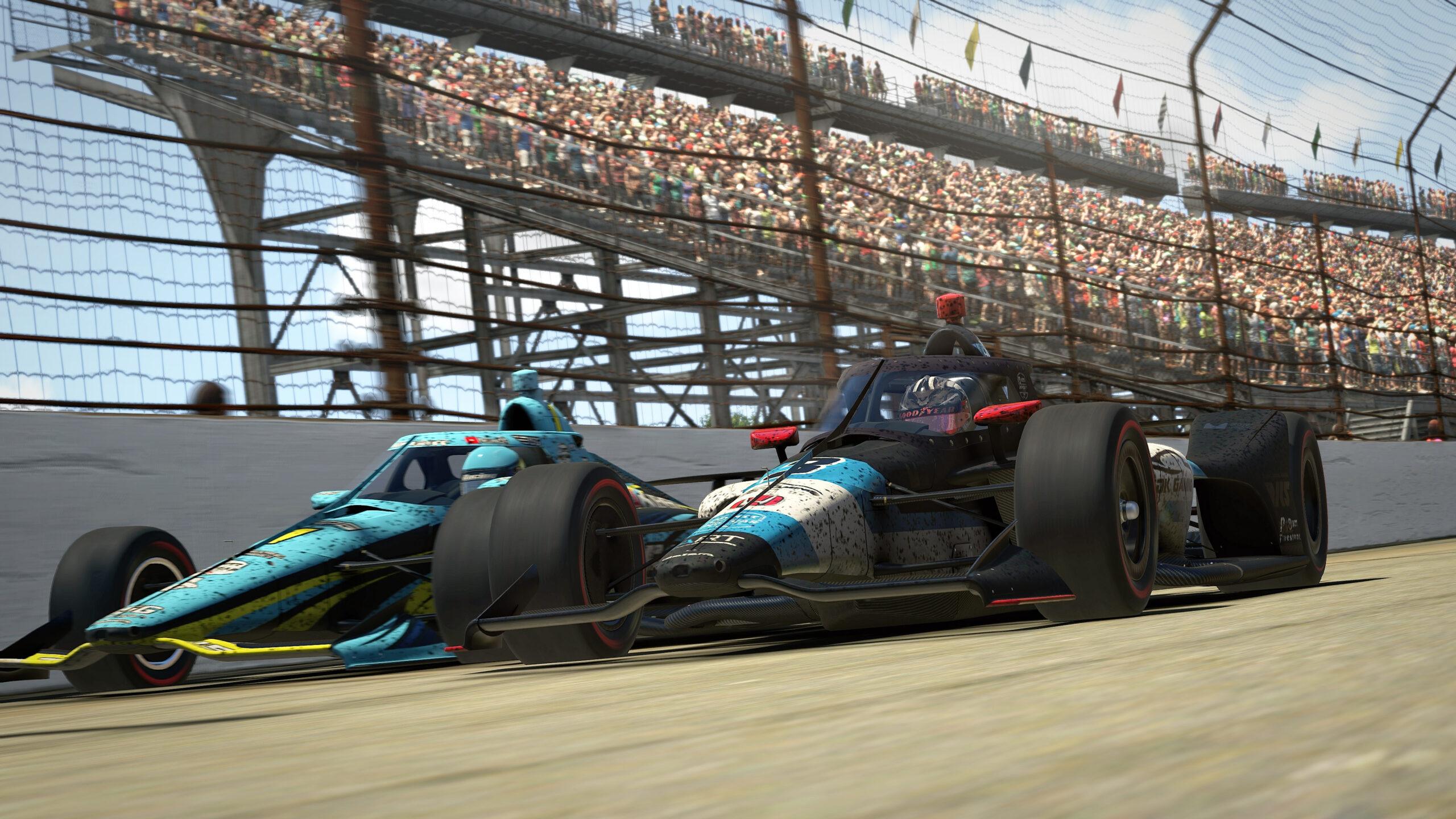 iRacing Indianapolis 500