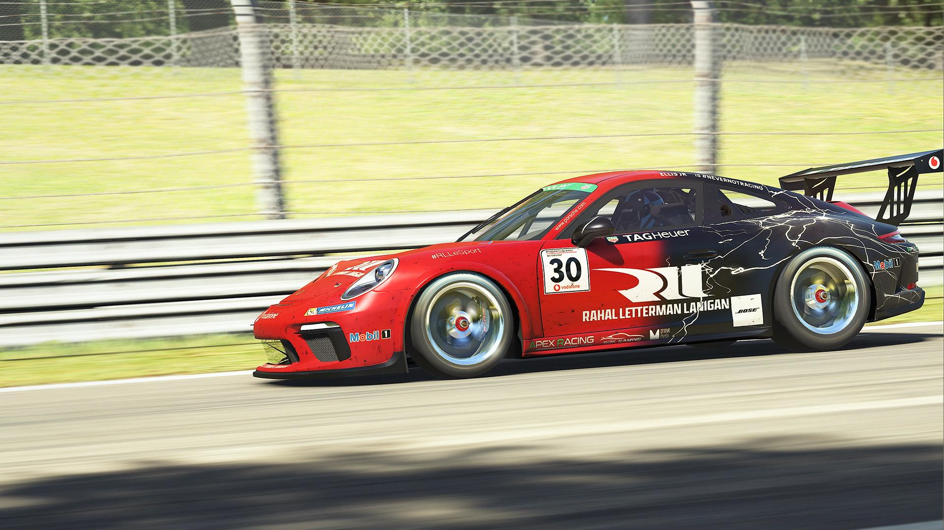 iRacing Porsche Tag Heuer