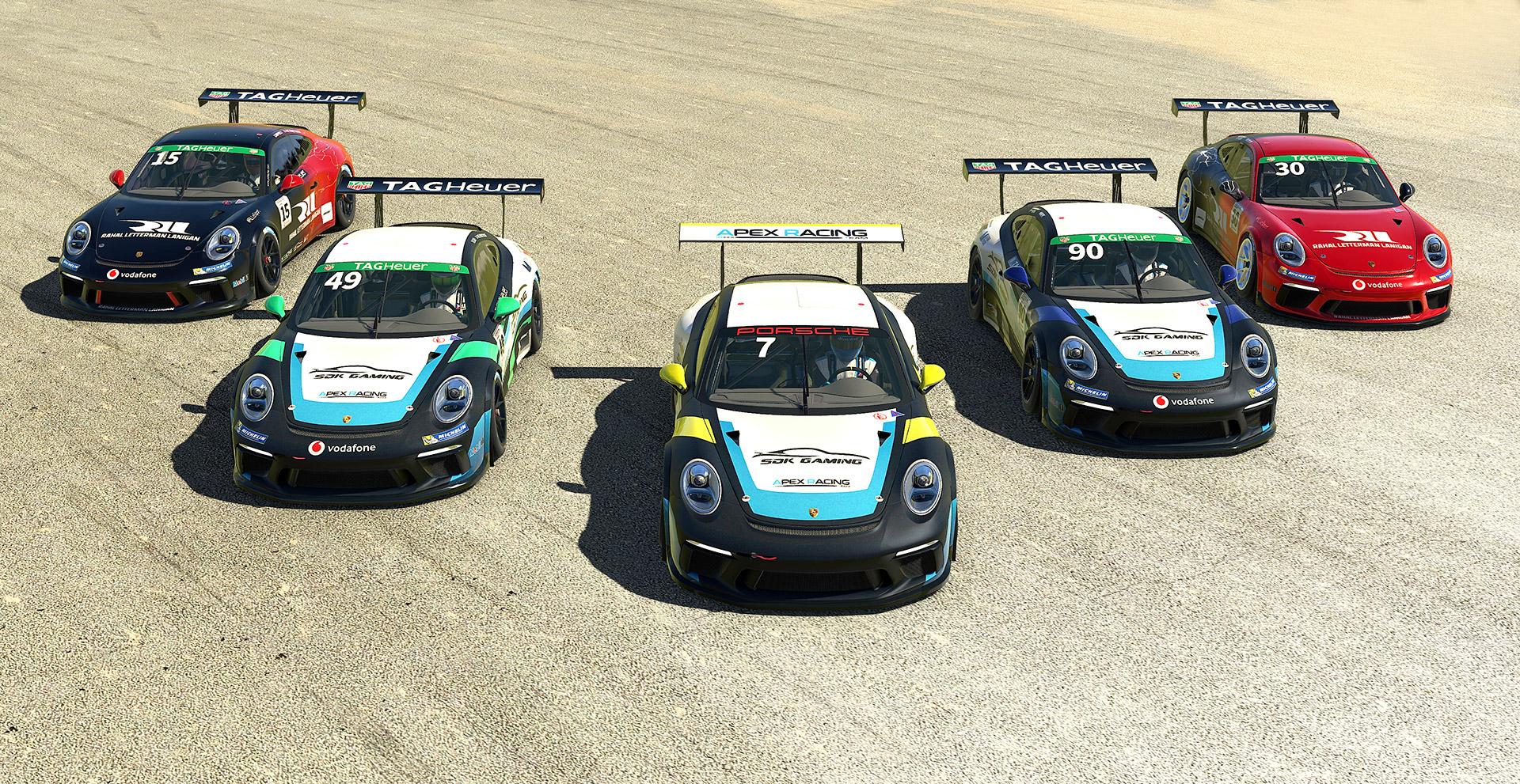 Porsche Tag Heuer eSports Supercup Round 1 – Interlagos
